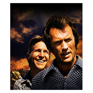 Thunderbolt and Lightfoot. Размер: 25 х 30 см
